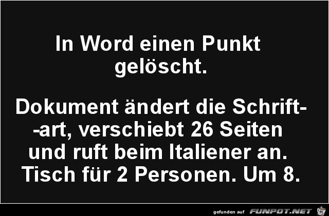 So ist Word