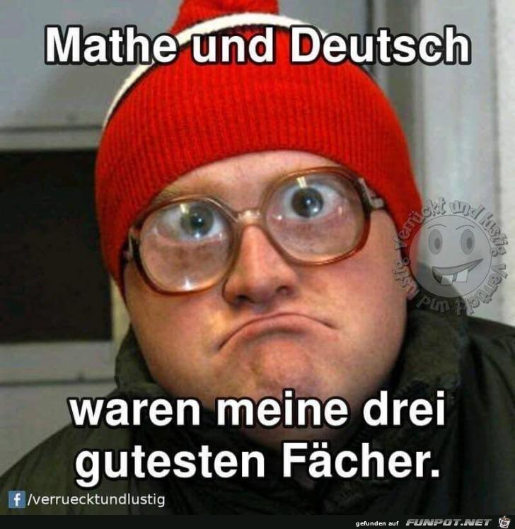 Mathe und Deutsch