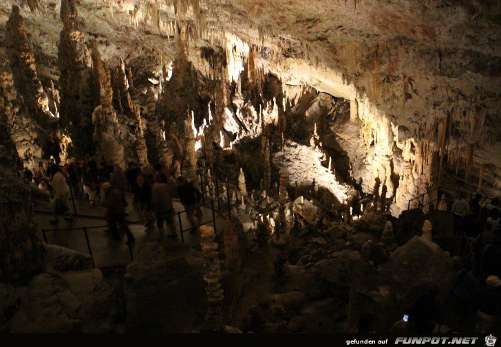 Impressionen aus der Adelsberger Grotte bei Postojna...