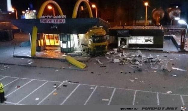 McD drive thru