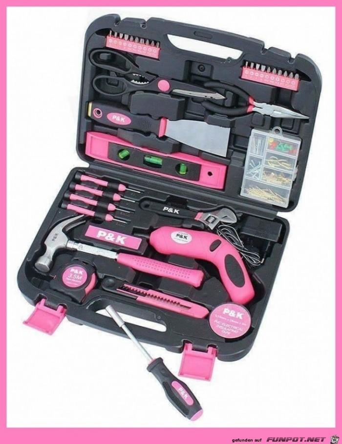 Werkzeug für Frauen