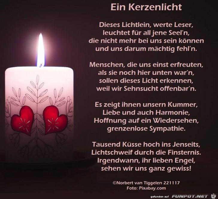 Ein Kerzenlicht 2017
