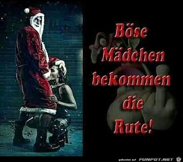 Böse Mädchen zu Weihnachten