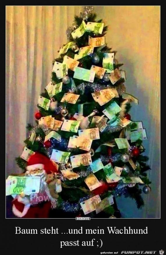 Der Baum gefällt mir