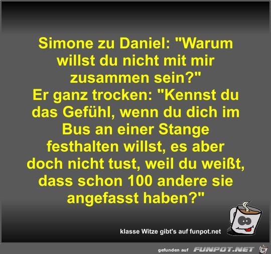 Simone zu Daniel