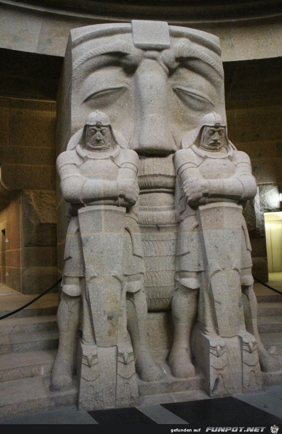 Impressionen vom Völkerschlachtdenkmal in Leipzig
