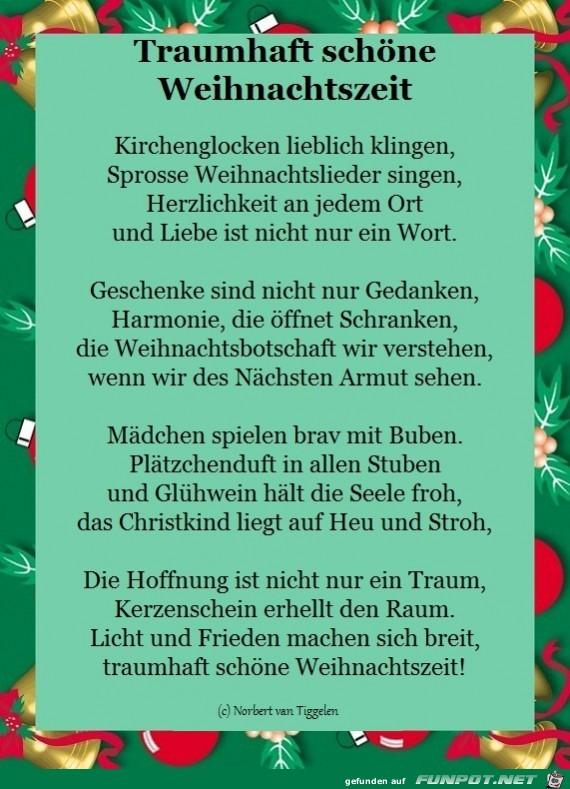 Traumhaft schöne Weihnachtszeit 2017