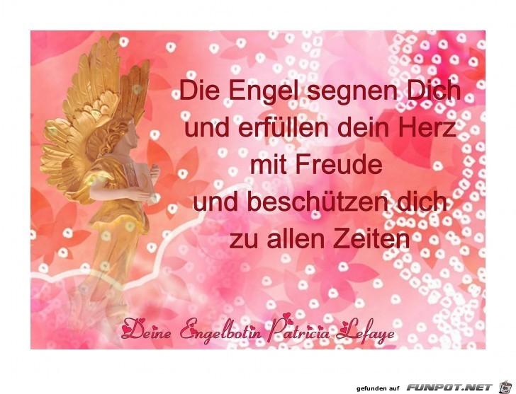 Die Engel segnen dich
