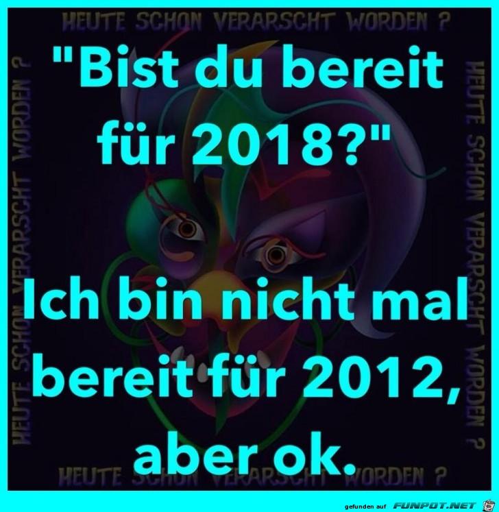 Bereit für 2018