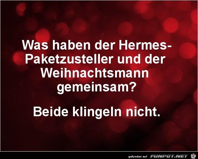 Hermes und Weihnachtsmann.......