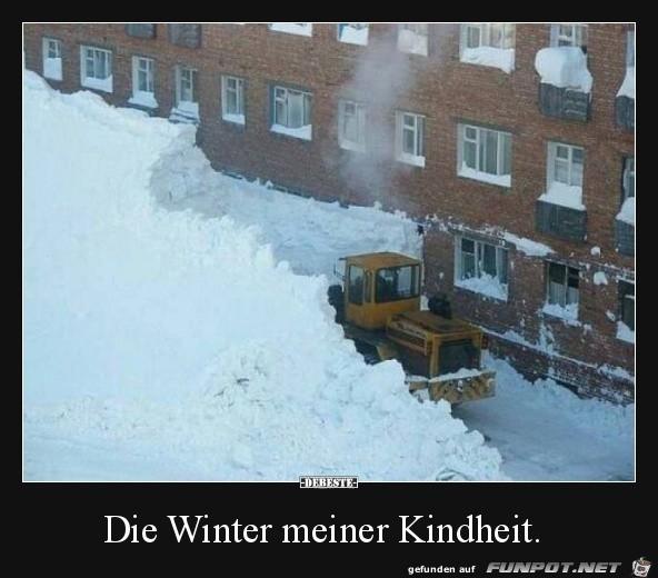 Winter früher