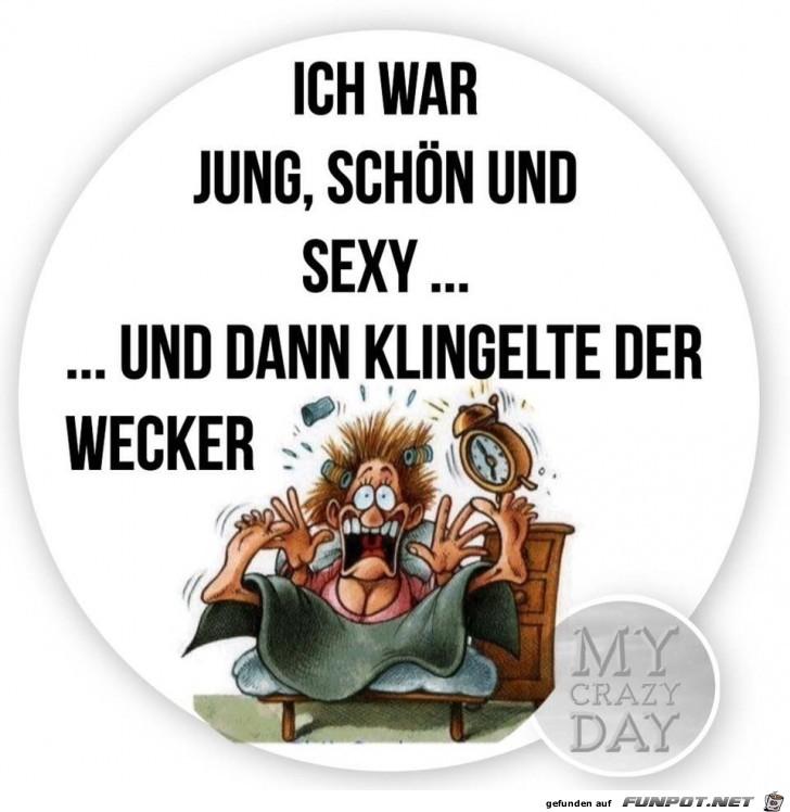 Scheiss Wecker!