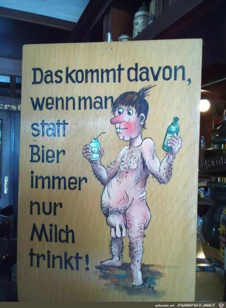 Zu wenig Bier
