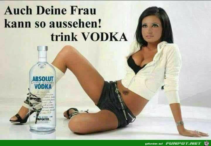 Trink Vodka