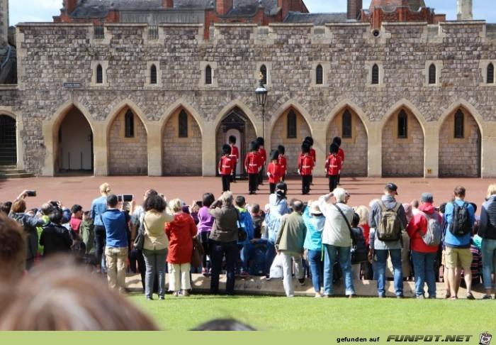 Impressionen von der St. Georgs Kapelle auf Windsor Castle