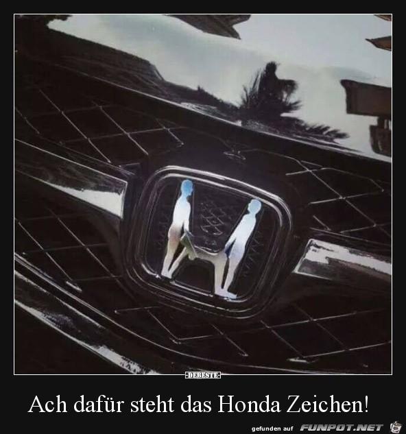 Das Honda-Zeichen