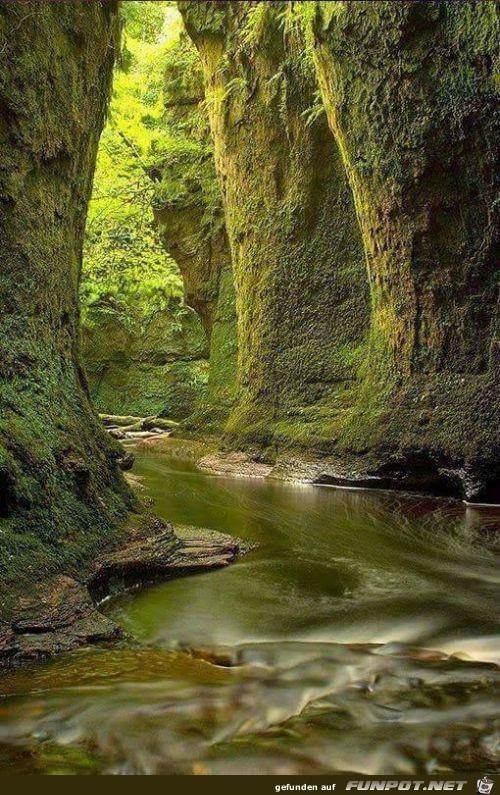 Wunderbare Orte auf dem Planet Erde