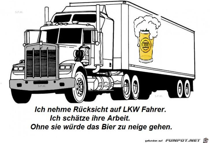 Bier LKW
