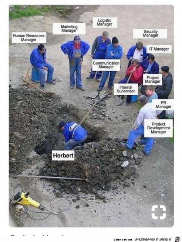 Arbeitsaufteilung