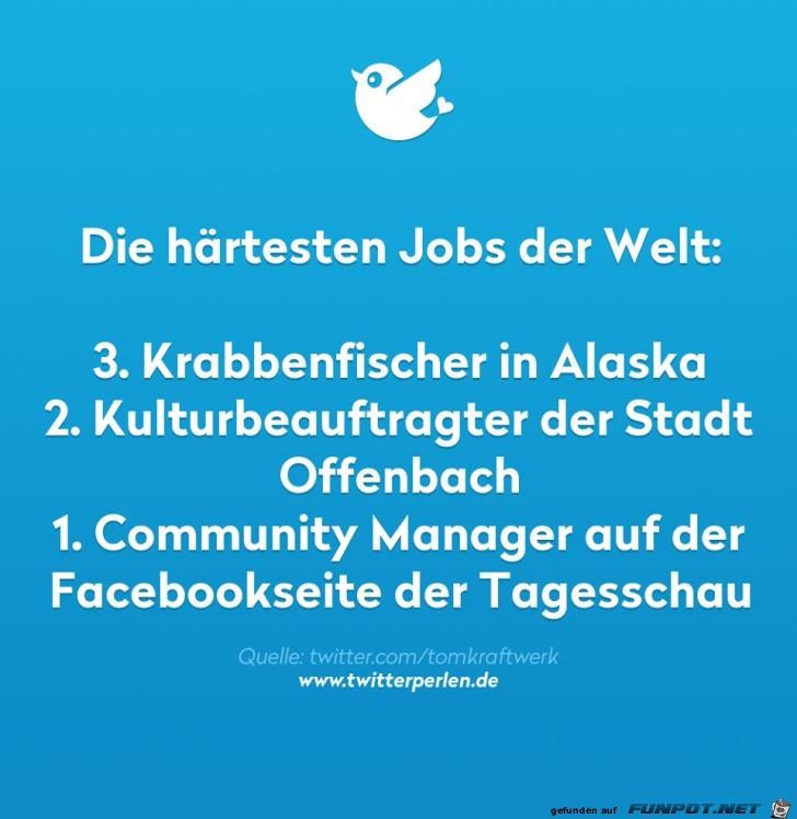 Die 3 härtesten Jobs der Welt