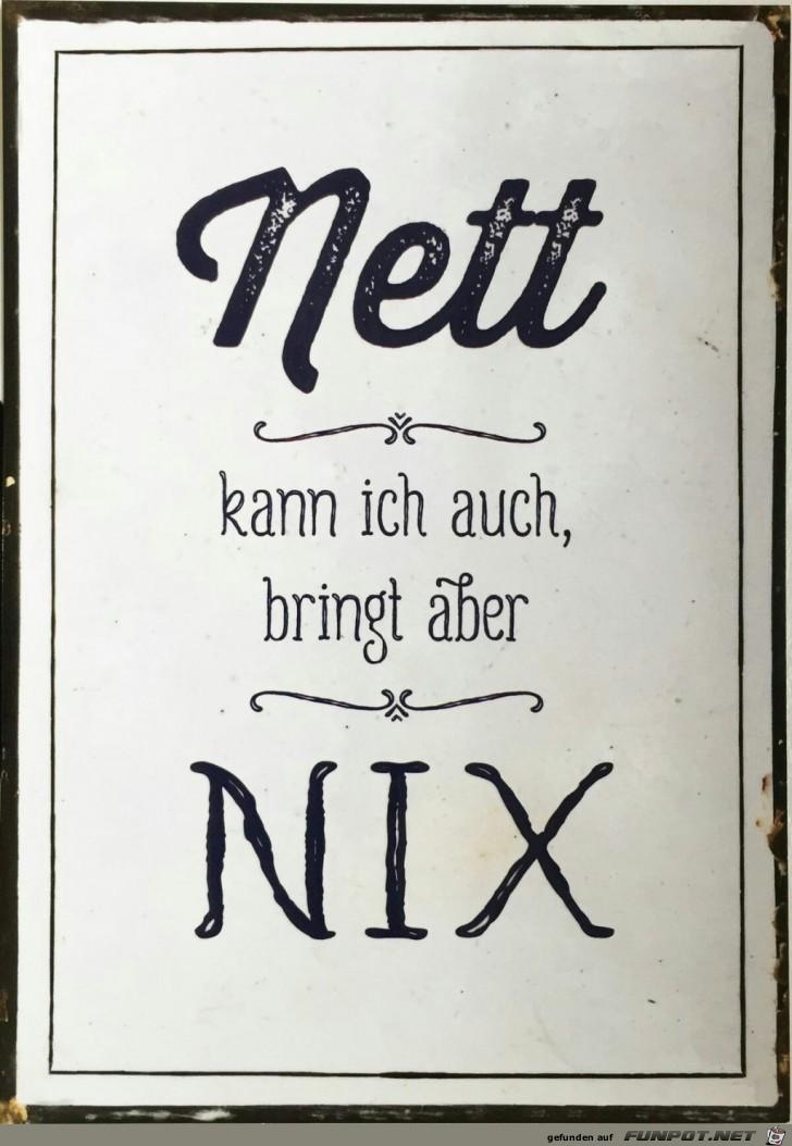 Nett bringt nix