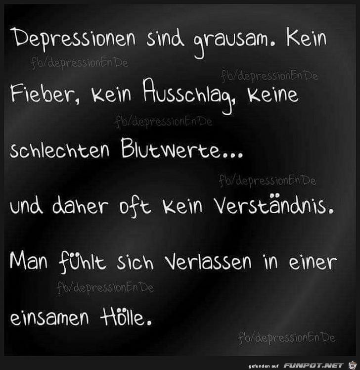 Sprüche depressive Kurze Depressive