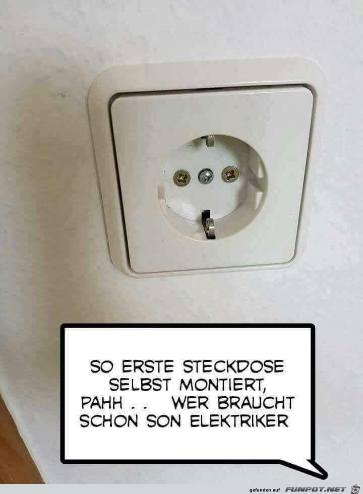 Wer braucht denn Elektriker?