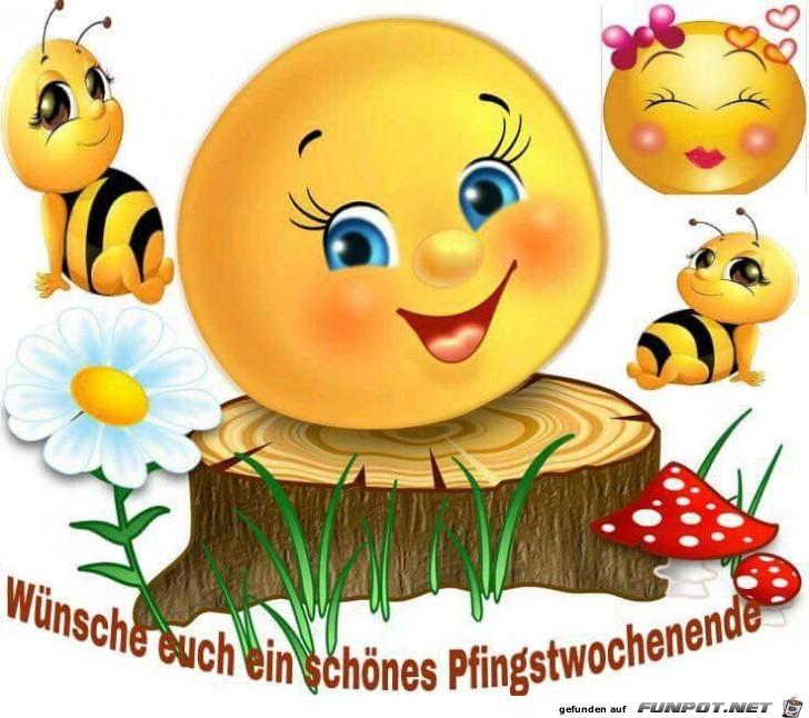 Wochenende smiley schönes Smiley Lustig
