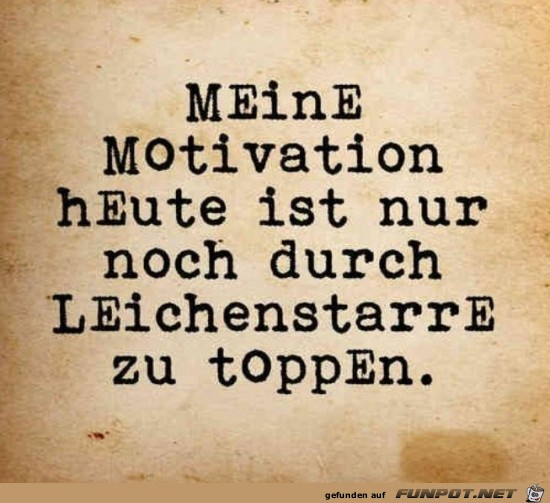 Meine Motivation