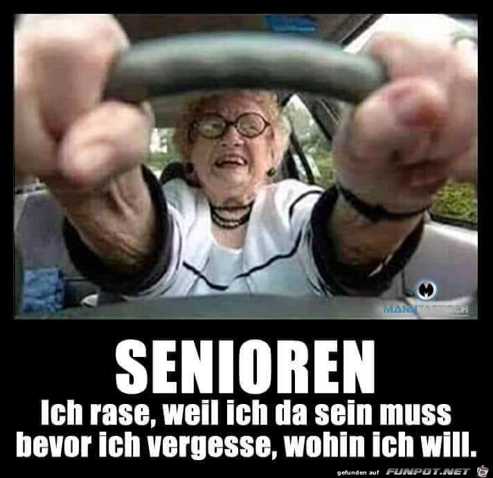 Senioren rasen...