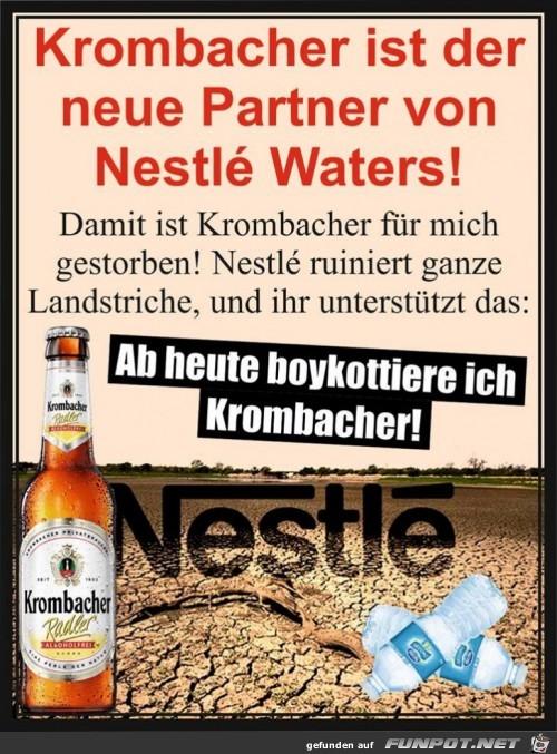Krombacher Und Nestle