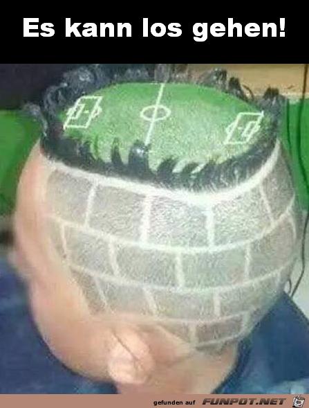 Die Frisur sitzt