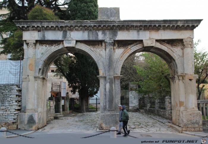 Impressionen aus Pula (Istrien)