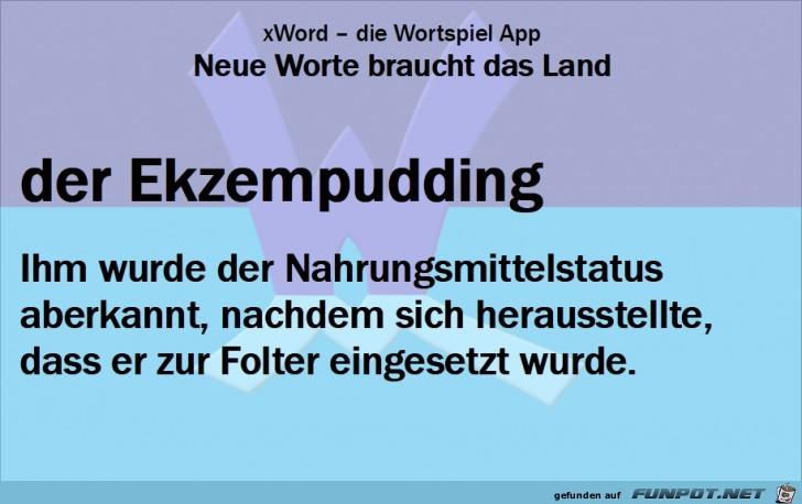 Neue-Worte-Ekzempudding