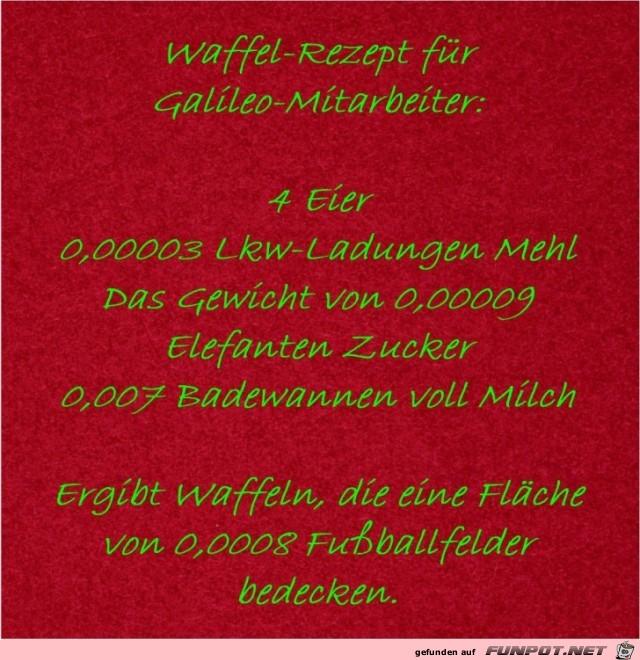 Waffel-Rezept