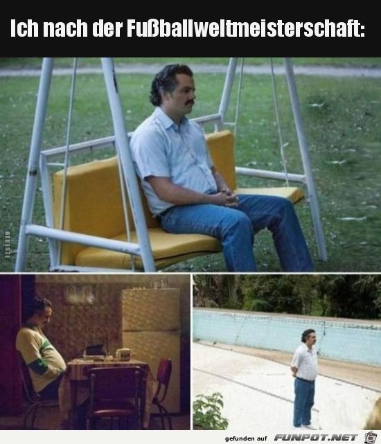 Nach der Fußball-WM