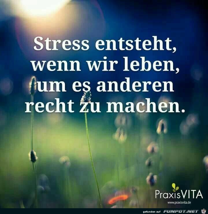 Stress entsteht