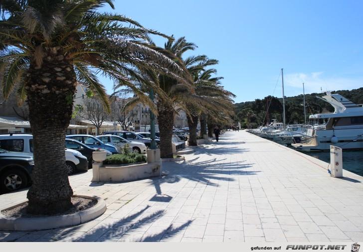 Impressionen aus Makarska an der kroatischen Riviera