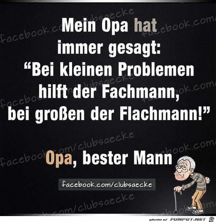 Bester Mann - Opa