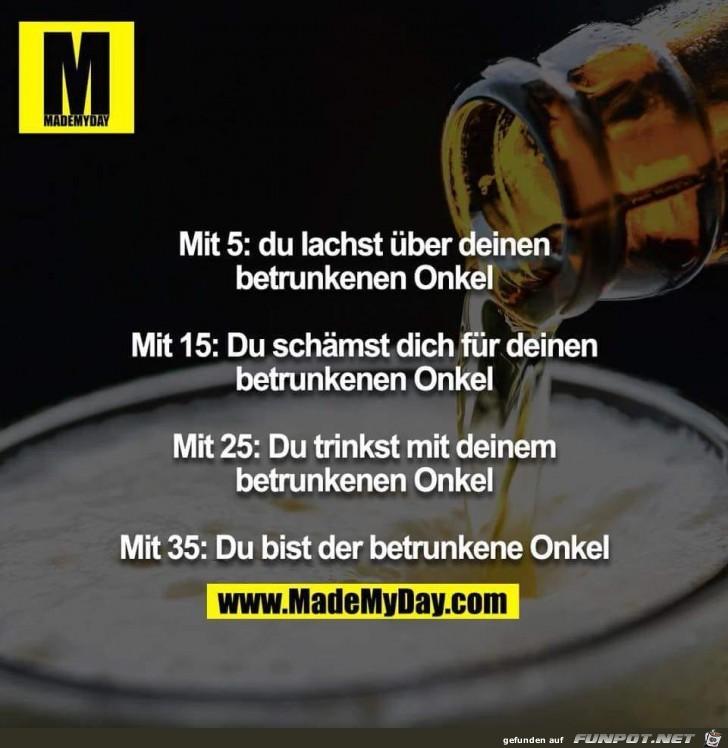 Die Trinkerphasen des Lebens