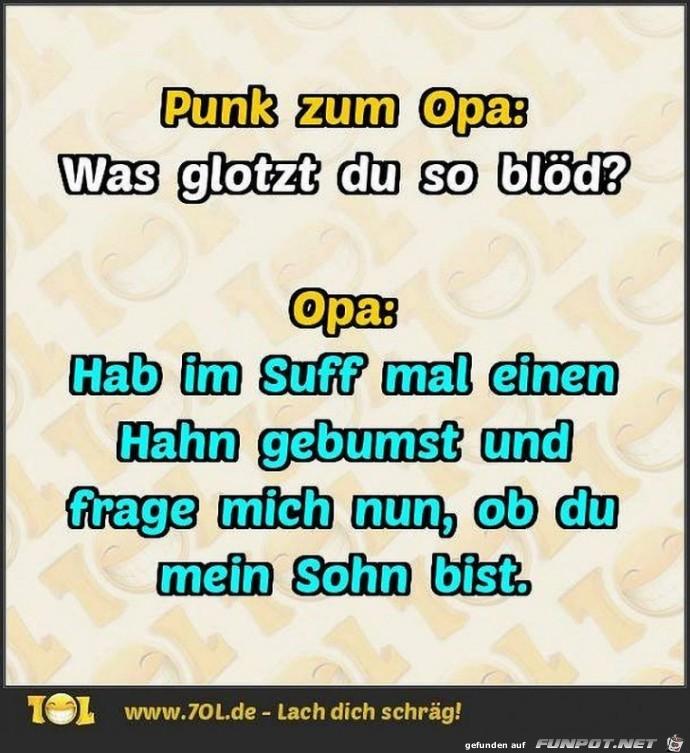 Punk kontra Opa