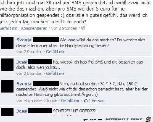 SMS Spende