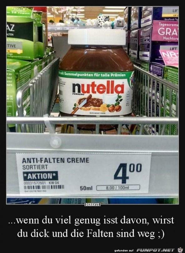 Anti-Falten Creme