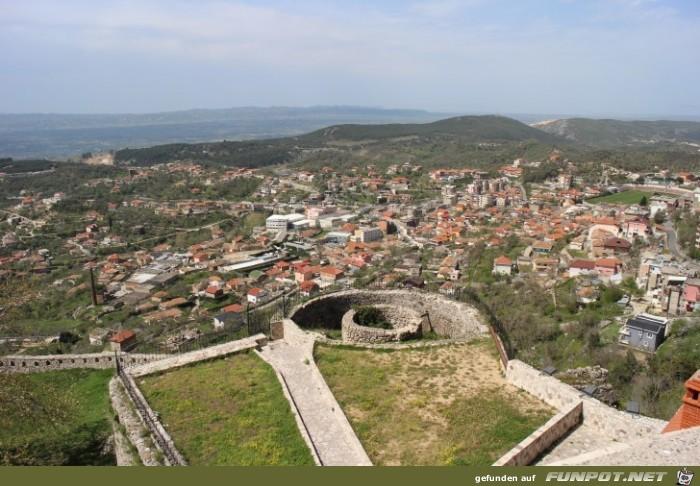 Impressionen aus Kruja in Albanien