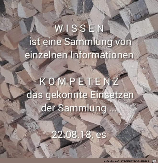 Wissen ist eine Sammlung