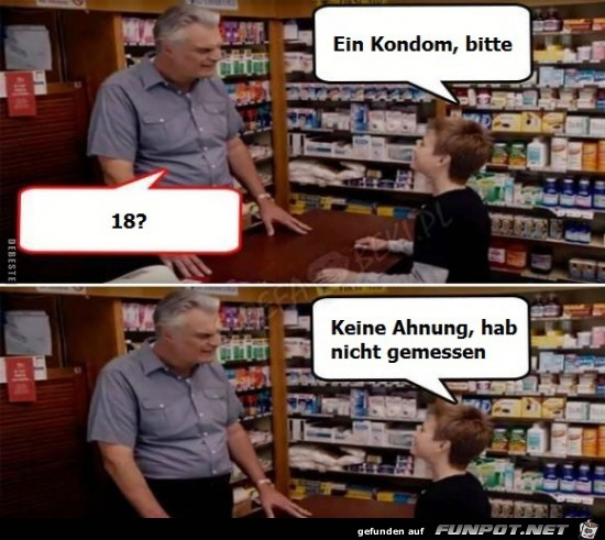 Clevere Antwort