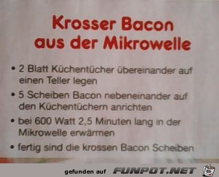 Krosser Bacon