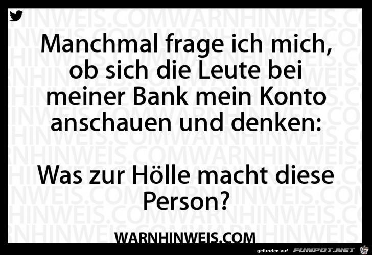 Bankmitarbeiter