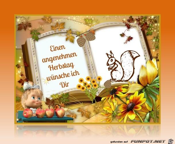 Angenehmen Herbsttag