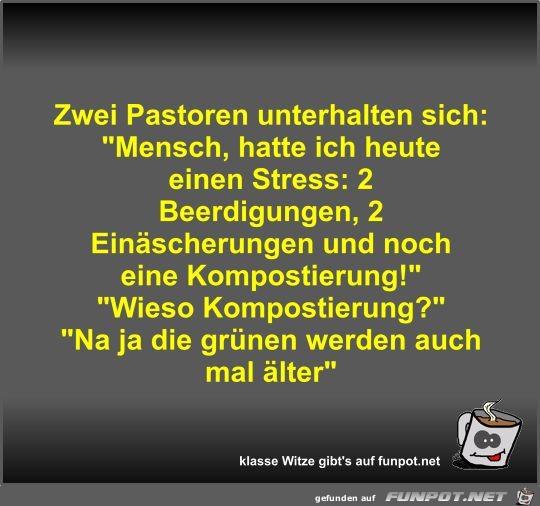 Pastoren Witze